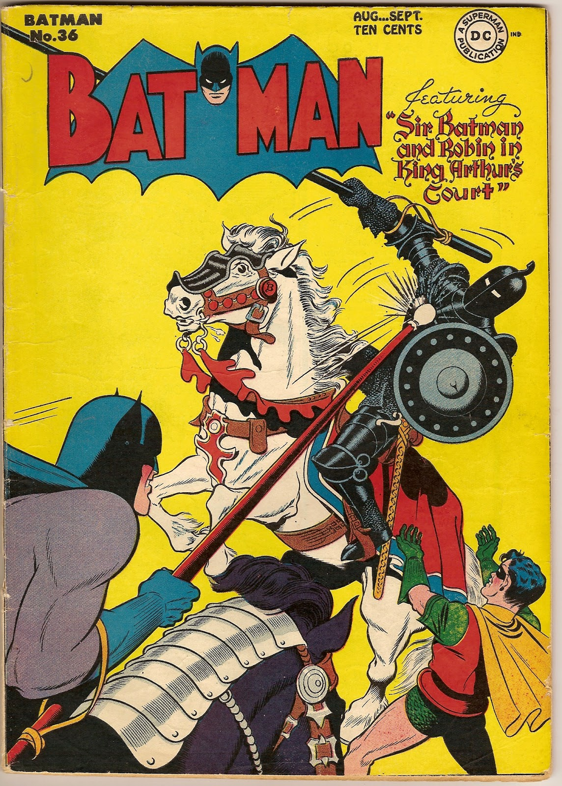 the arthur of the comics project batman in king arthur s court