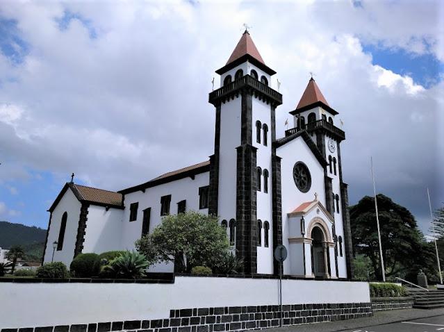 Igresia de Nossa Senhora da Alegria en Furnas (Açores)