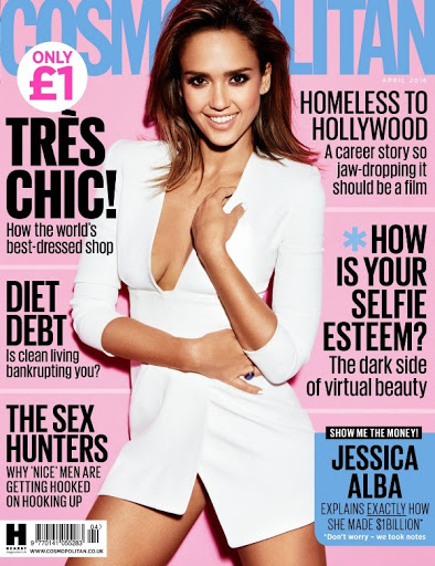jessica alba sexy models photo shoot for cosmopolitan uk magazine cover