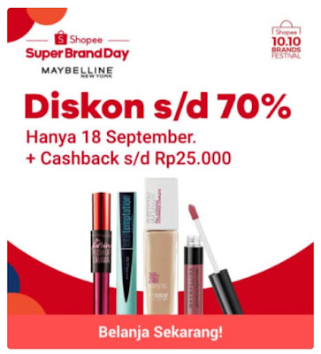 Promo Shopee Super Brand Day