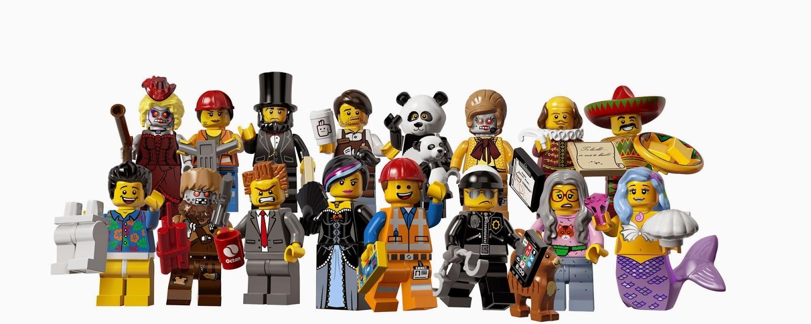 The Minifigure Collector Lego Movie Minifigure Rarity Guide