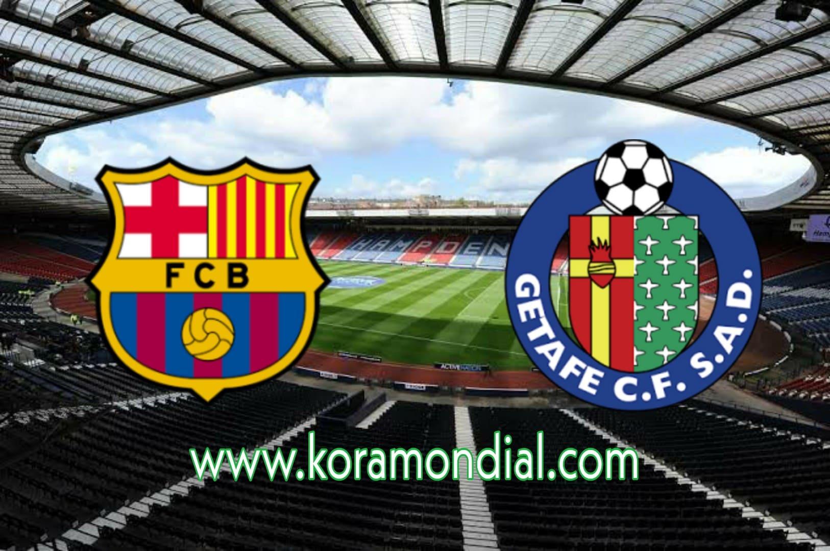مشاهدة مباراة برشلونة و خيتافي بث مباشر اليوم 17-10-2020 في الدوري الإسباني