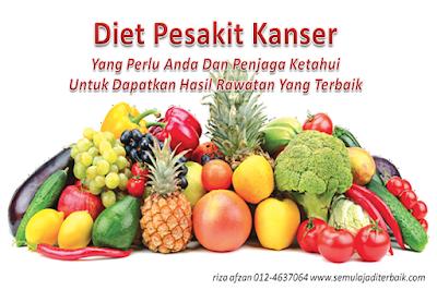 diet pesakit kanser