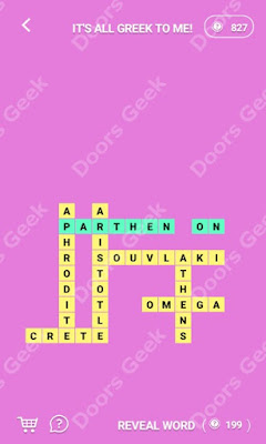 Cheats, Solutions for Level 132 in Wordcross by Apprope