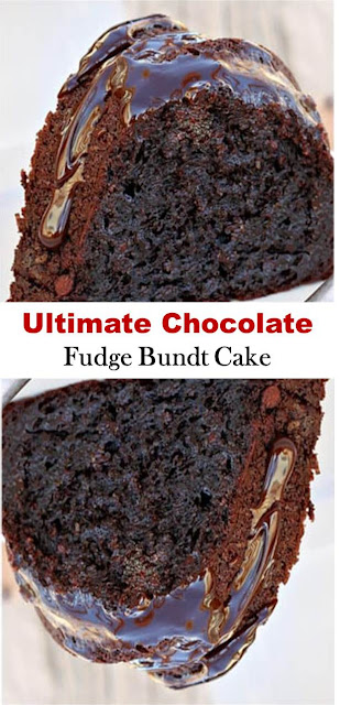 Ultimate Chocolate Fudge Bundt Cake #Ultimate #Chocolate #Fudge #Bundt #Cake