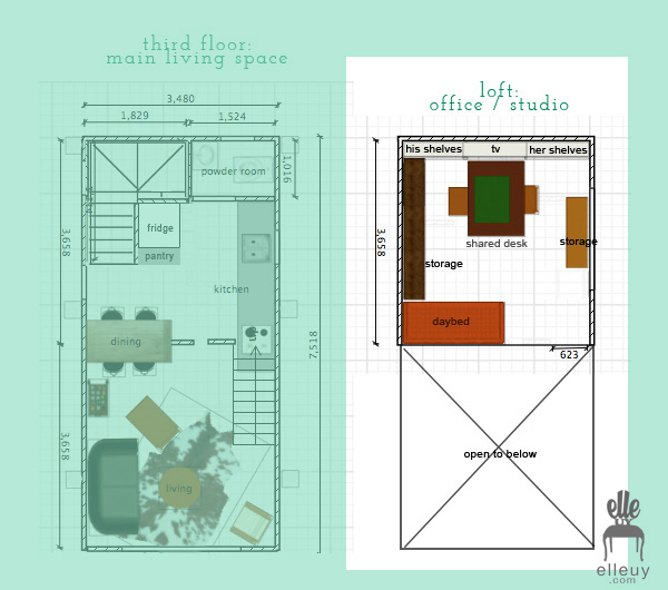 Decor me Happy by Elle Uy Tiny House Renovation Loft Office Plans – Happy Days House Floor Plan