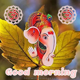 good morning cute ganesh ji pics