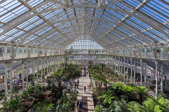 La casa templada de Kew Garden