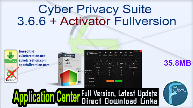 Cyber Privacy Suite 3.6.6 + Activator Fullversion