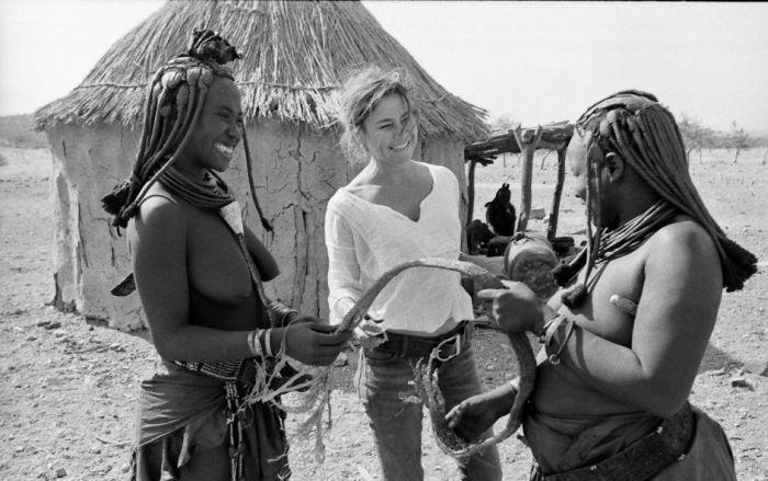 white woman african sex vacation