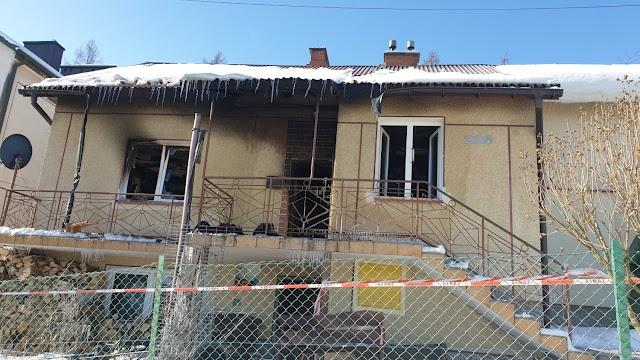 Pogorzelcy z Glinika Dolnego proszą o pomoc. Ogień zniszczył ich dom