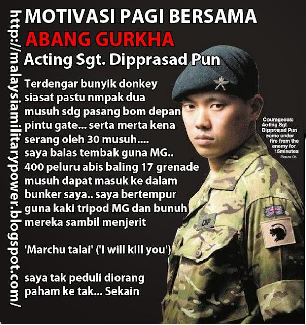 Motivasi Gurkha Pagi Pagi