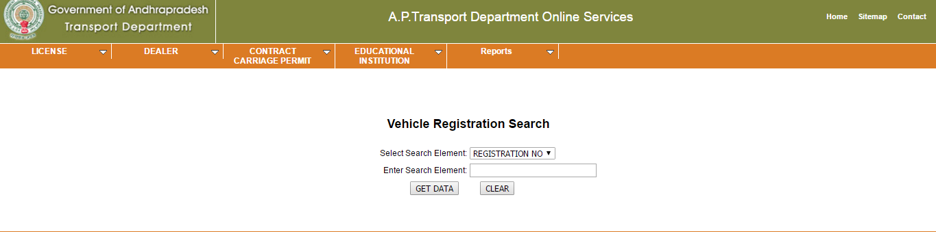 ap rto vehicle registration search