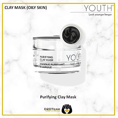 youth, shaklee, skincare youth, skincare shaklee, clay mask, mask kulit berminyak, mask kulit berjerawat