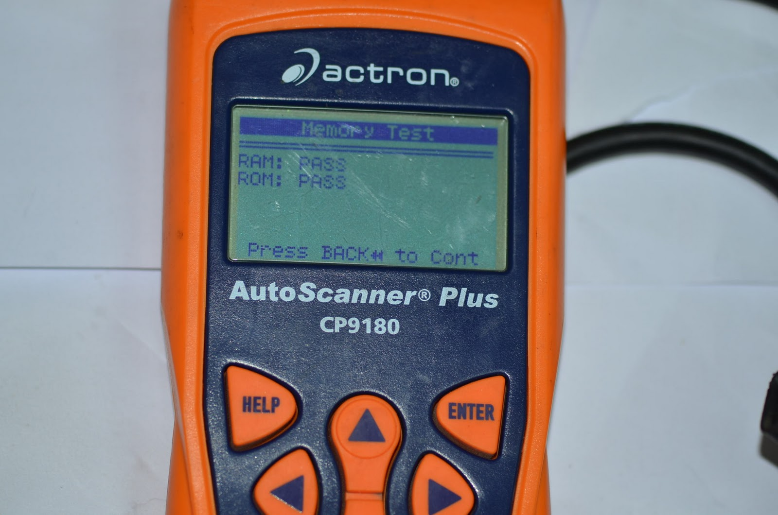 Buying Used Car With Actron Scanner