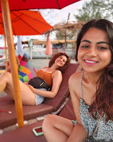 Shraddha Das Enjoying Vacation HeyAndhra.com