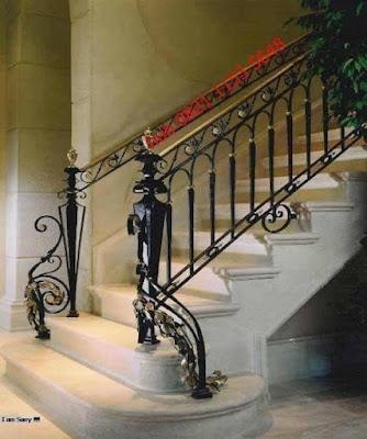 railing tempa untuk rumah mewah