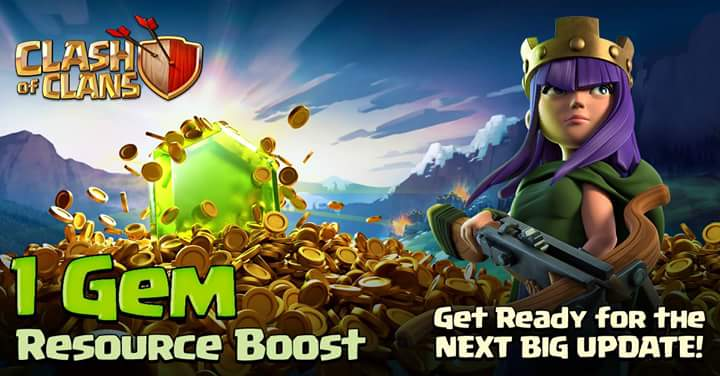 1-Gem Resource Boost Event