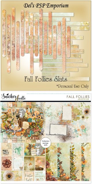 Fall Follies Slats
