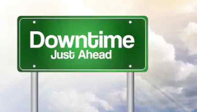 arti down time