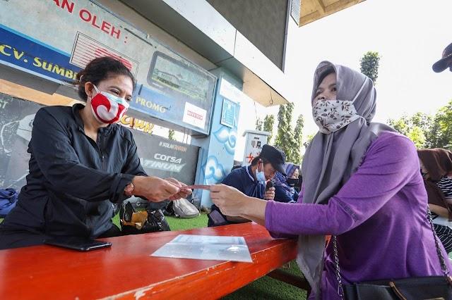 Penyaluran Bansos PPKM Darurat Kota Bandung Sudah 99 Persen