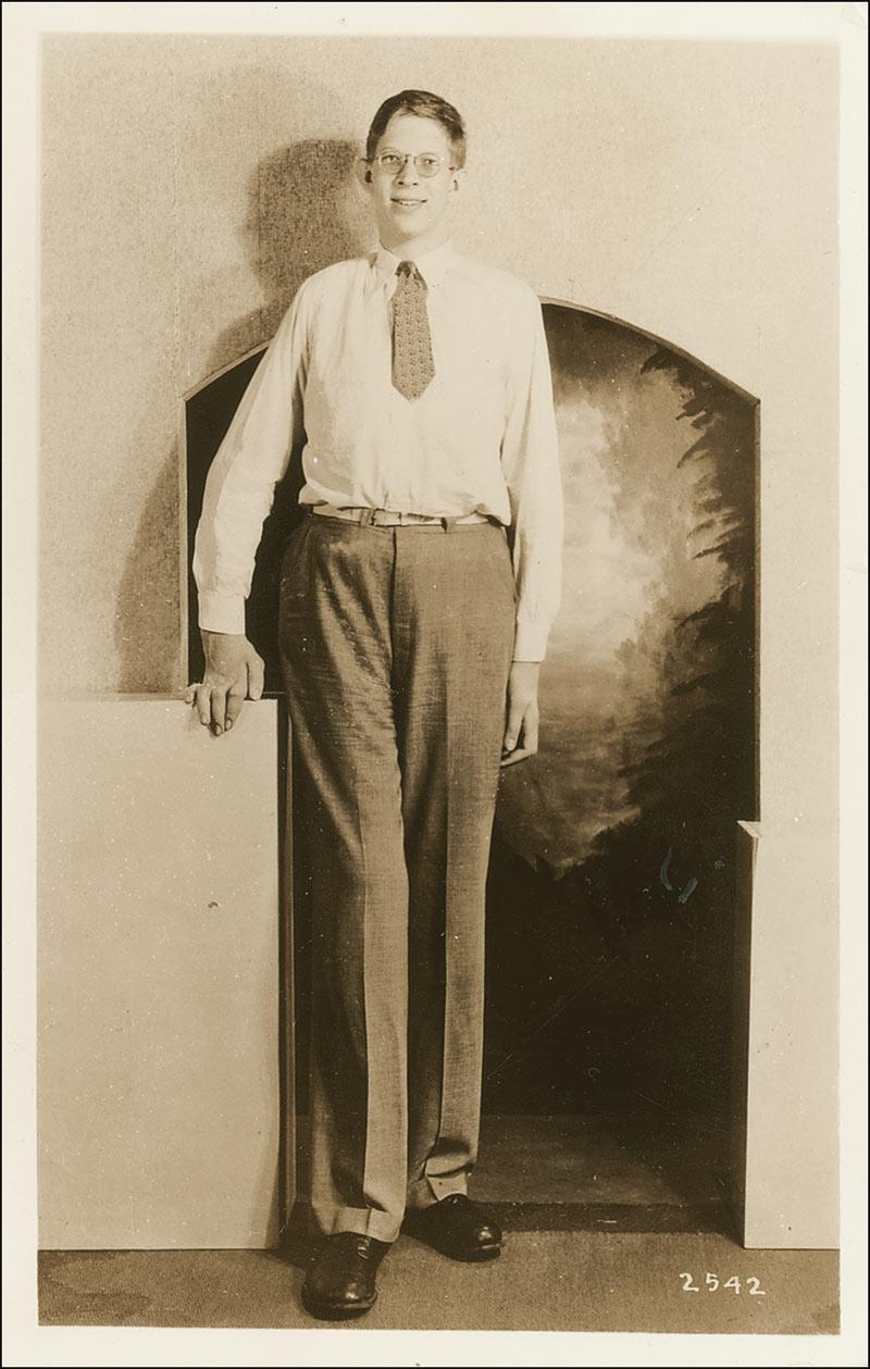 Tall Man With One Black Shoe