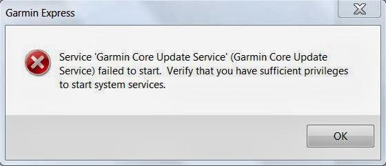 Garmin Express Cannot Find Device Windows 10
