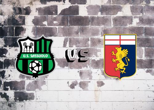 Sassuolo vs Genoa  Resumen