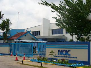 Loker Terbaru Operator Produksi PT. NOK Indonesia MM2100 Cikarang