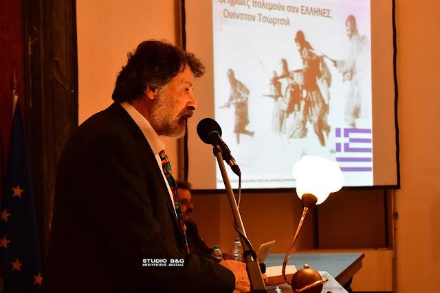 """Ηρωικές στιγμές και τραγούδια της νίκης για το έπος του ΄40 από το Σύλλογο """"Ο Παλαμήδης"""" στο Ναύπλιο (βίντεο)"""