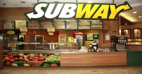 Subway contrata Atendente Sem Experiência no Rio de Janeiro