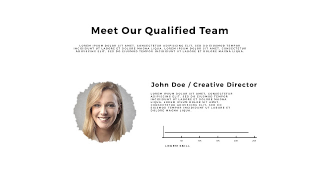 "Infographic PowerPoint Templates for Presentation of "" Meet Our Team "" Slide 2"