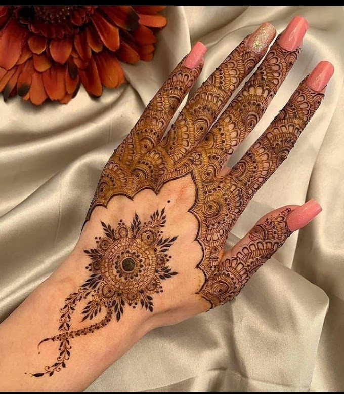 New mehndi designs 2021 - latest henna Mehndi pictures