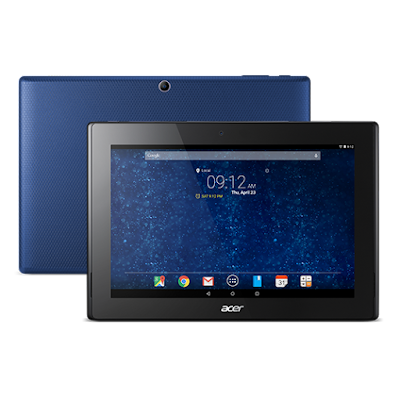 Acer Iconia Tab 10 A3-A30 Specifications - LAUNCH Announced 2015, April  This is not a GSM device, it will not work on any GSM network worldwide DISPLAY Type LED-backlit IPS LCD capacitive touchscreen, 16M colors Size 10.1 inches (~64.6% screen-to-body ratio) Resolution 1920 x 1200 pixels (~224 ppi pixel density) Multitouch Yes Protection Corning Gorilla Glass 4, oleophobic coating BODY Dimensions 260 x 176 x 9.7 mm (10.24 x 6.93 x 0.38 in) Weight 540 g (1.19 lb) SIM No PLATFORM OS Android OS, v5.0 (Lollipop) CPU Quad-core 1.33 GHz Chipset Intel Atom Z3735F GPU  MEMORY Card slot microSD, up to 256 GB (dedicated slot) Internal 16/32/64 GB, 2 GB RAM CAMERA Primary 5 MP Secondary 2 MP Features Geo-tagging Video 1080p NETWORK Technology No cellular connectivity 2G bands N/A GPRS No EDGE No COMMS WLAN Wi-Fi 802.11 a/b/g/n/ac, dual-band, hotspot NFC Yes GPS A-GPS only USB microUSB v2.0 Radio No Bluetooth v4.0 FEATURES Sensors Accelerometer Messaging Email, Push Email, IM Browser HTML5 Java No SOUND Alert types Vibration; MP3, WAV ringtones Loudspeaker Yes, with stereo speakers 3.5mm jack Yes  - Dolby Digital Plus BATTERY  Non-removable Li-Ion 5910 mAh battery (22 Wh) Stand-by  Talk time Up to 7 h 30 min (multimedia) Music play  MISC Colors Various  - MP3/WAV/eAAC+/Flac player - MP4/H.264 player - Document viewer - Photo/video editor