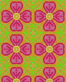 Beaded Coloring Page