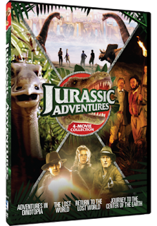 DVD Review: Jurassic Adventures: 4-Movie Collection