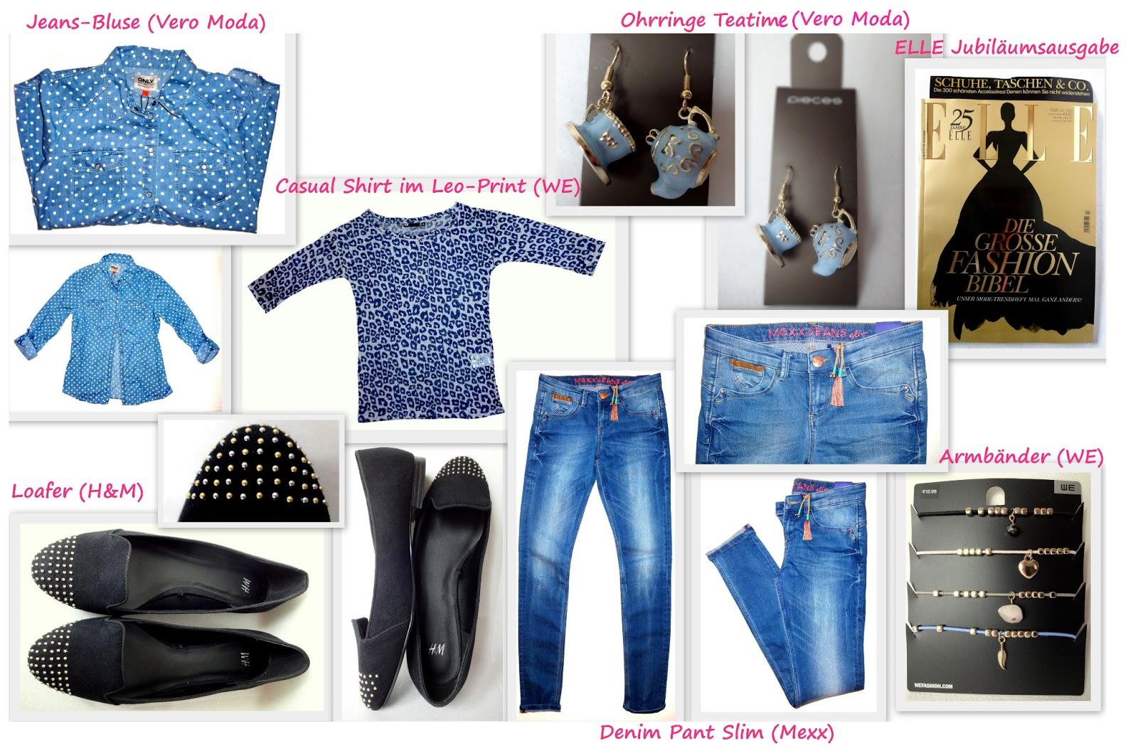 Meine Shoppingausbeute von Vero Moda, H&M, We und Co.