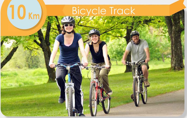 PIK 2 Jogging Tract & Bicycle Track