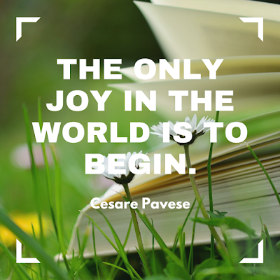 The only joy in the world is to begin. #books #readeveryday
