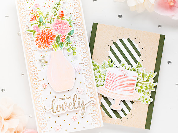Pinkfresh Studio March Essentials Slim Cuts Release Blog Hop