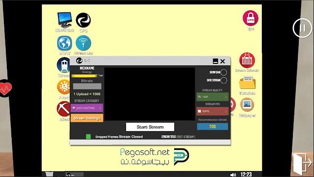 تحميل لعبة محاكي اليوتيوبرز من ميديا فاير