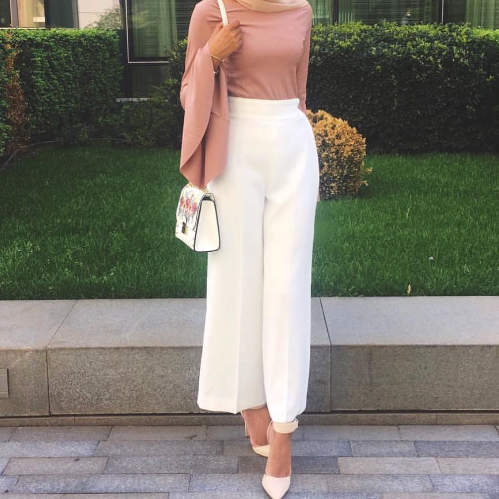 15  of most beautiful hijab fashion outfits for summer