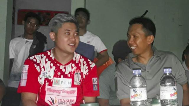 Wahyu Nayaka Hadiri Penutupan Super Badminton Kapolres dan Dandim Cup Lotim