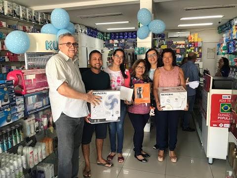 Drogaria Amorim realiza grande promoção e sorteia mais de 40 prêmios para seus clientes. Conheça alguns dos  ganhadores!