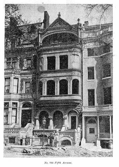 The Lost Blossom Mansion -- 844 Fifth Avenue