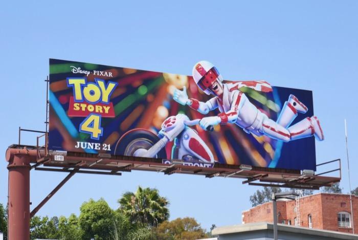 Toy Story 4 Duke Caboom billboard
