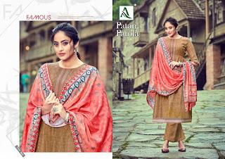 Alok Suits Patan Patola Pashmina Collection