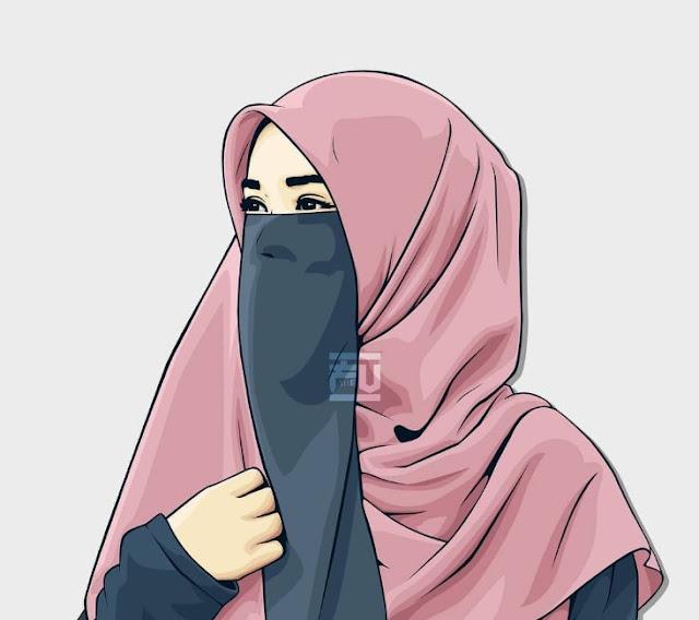 Kumpulan Gambar Kartun Muslimah