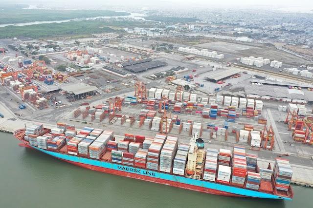 Puerto Marítimo Libertador Simón Bolívar, líder en servicios portuarios del Ecuador