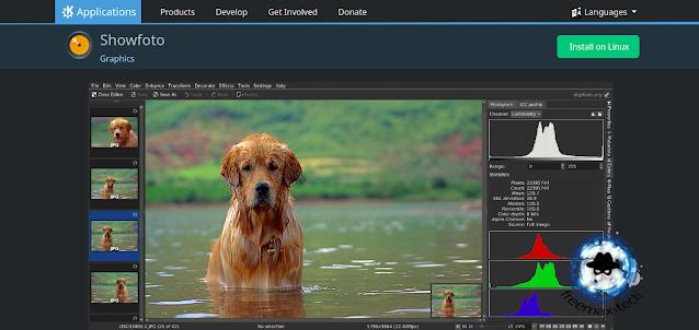 showfoto برنامج لينكس وويندوز